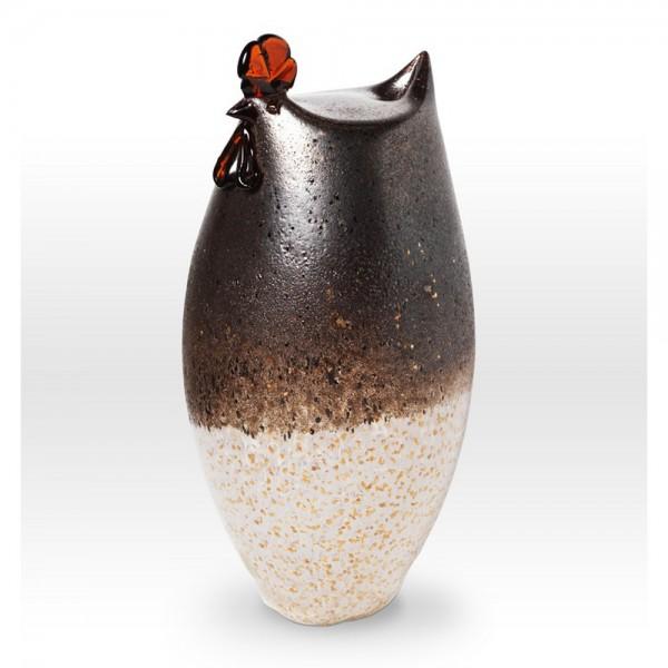 Large Chicken FH0211 - Viterra Art Glass