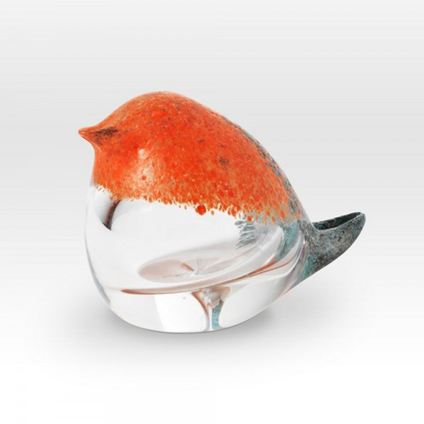Small Chick Coral FH0503 - Viterra Art Glass