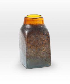 Amber Stone Vessel MG0208 - Viterra Art Glass
