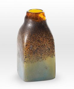 Amber Stone Vessel MG0210 - Viterra Art Glass