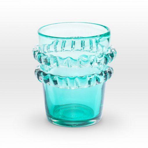 Aqua Vase RI0108 - Viterra Art Glass