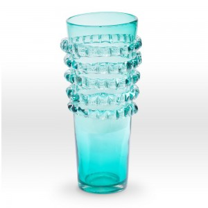 Aqua Vase RI0116 - Viterra Art Glass