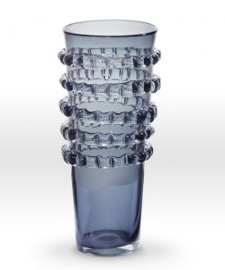 Grey Vase RI0216 - Viterra Art Glass