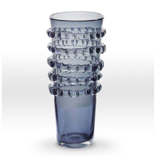 Grey Vase RI0216 - Viterra Art Glass