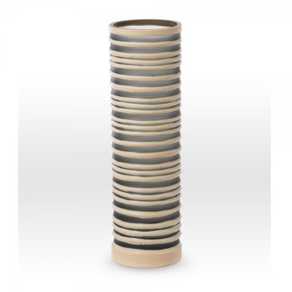 Gray Camel Cut Vase SG0116 - Viterra Art Glass