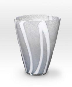 Gray Vase ZG0210 - Viterra Art Glass