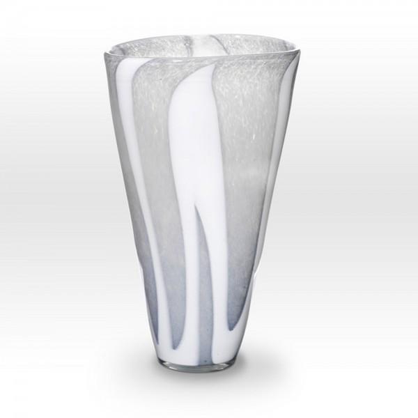 Gray Vase ZG0213 - Viterra Art Glass