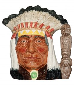North American Indian (Okoboji 75th Anniversary Edition) - Large - Royal Doulton Character Jug