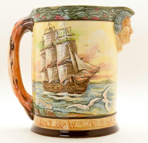Captain Phillip Jug - Royal Doulton Loving Cup