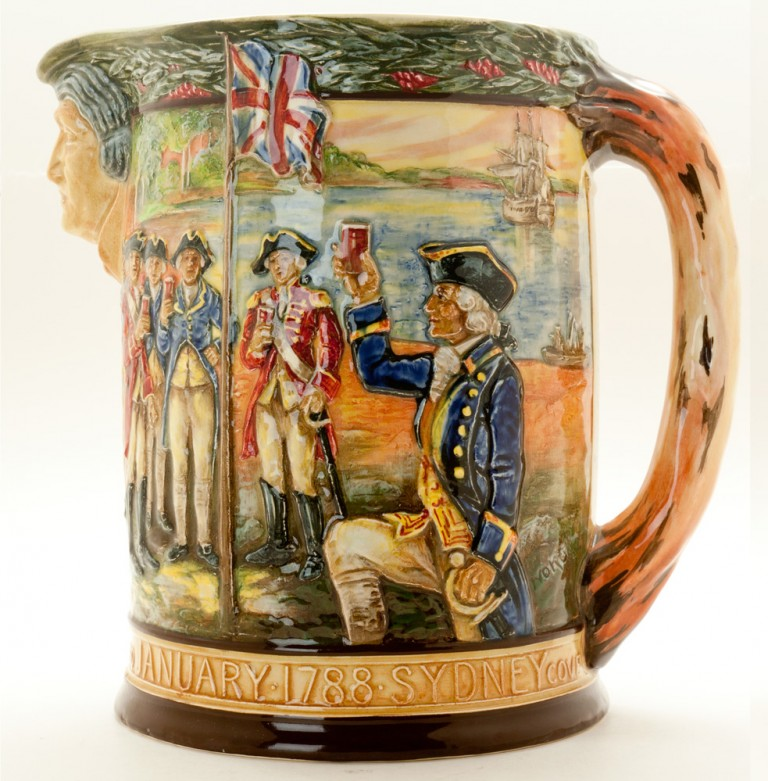 Captain Phillip Jug - Royal Doulton Loving Cup