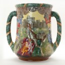 King George V and Queen Mary Silver Jubilee Loving Cup (Uncrowned version) – Royal Doulton Loving Cup 2