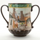Pottery in the Past Loving Cup D6696 – Royal Doulton Loving Cup 2