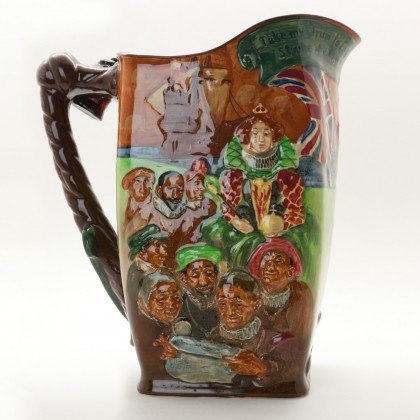 Sir Francis Drake Jug - Royal Doulton Loving Cup