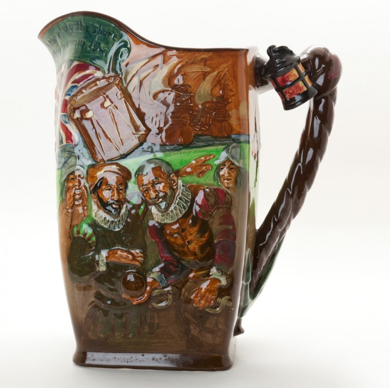 Sir Francis Drake Jug - Royal Doulton Loving Cup