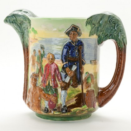 Treasure Island Jug - Royal Doulton Loving Cup