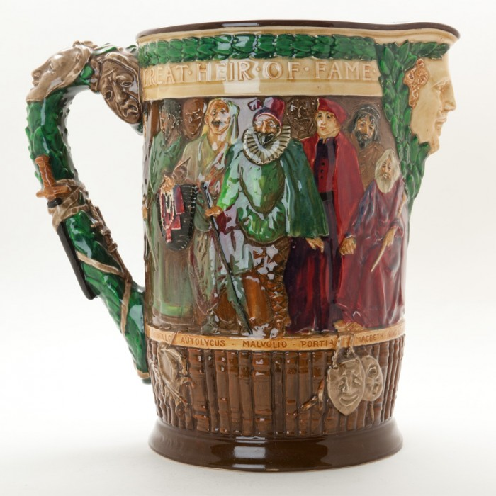 William Shakespeare Jug - Royal Doulton Loving Cup