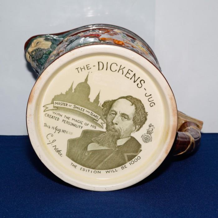Charles Dickens Jug - Royal Doulton Loving Cup