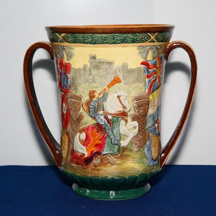 King Edward VIII Coronation Loving Cup (Large) - Royal Doulton Loving Cup