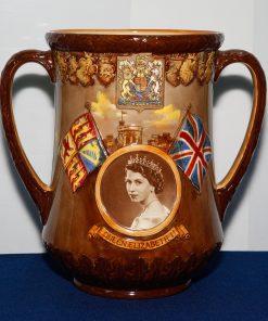 Queen Elizabeth II Coronation - Royal Doulton Loving Cup