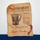 William Shakespeare Jug – Royal Doulton Loving Cup 8