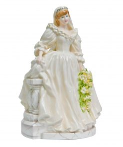 Diana Princess of Wales Bride CW546 - Coalport Figurine