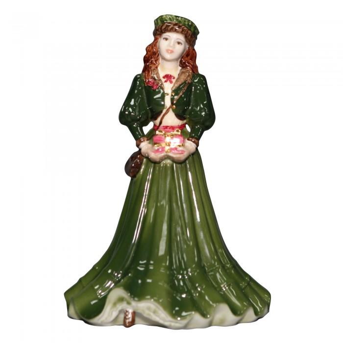 A Gift at Christmas - Coalport Figurine