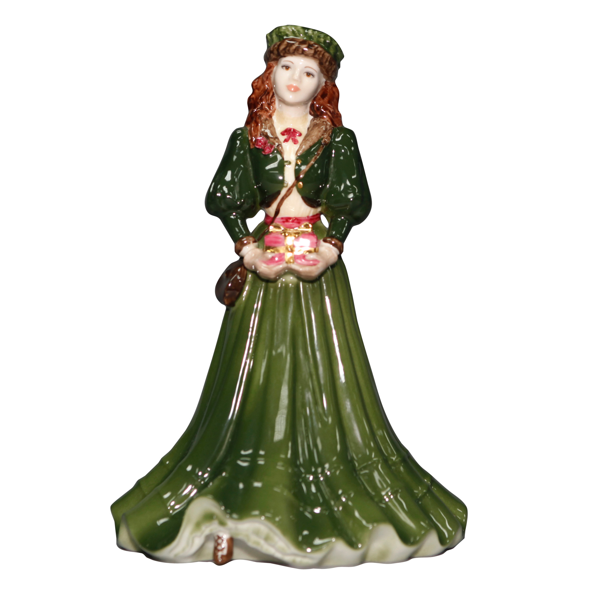 A Gift at Christmas - Coalport Figurine