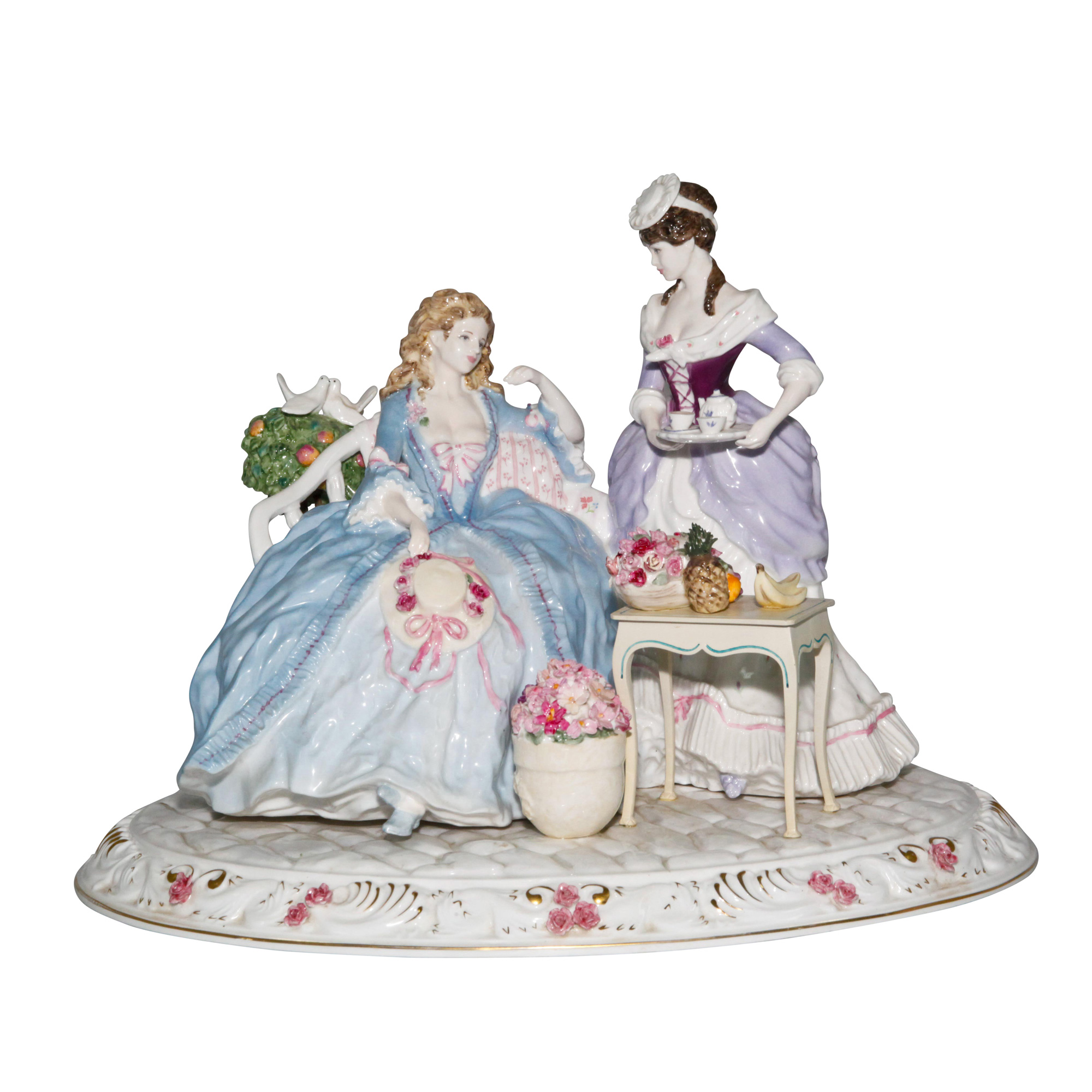 Heirloom FOY Tableau CW499 - Coalport Figurine