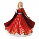 Festive Memories HN5781 - 2016 Royal Doulton Christmas Day Figure of the Year