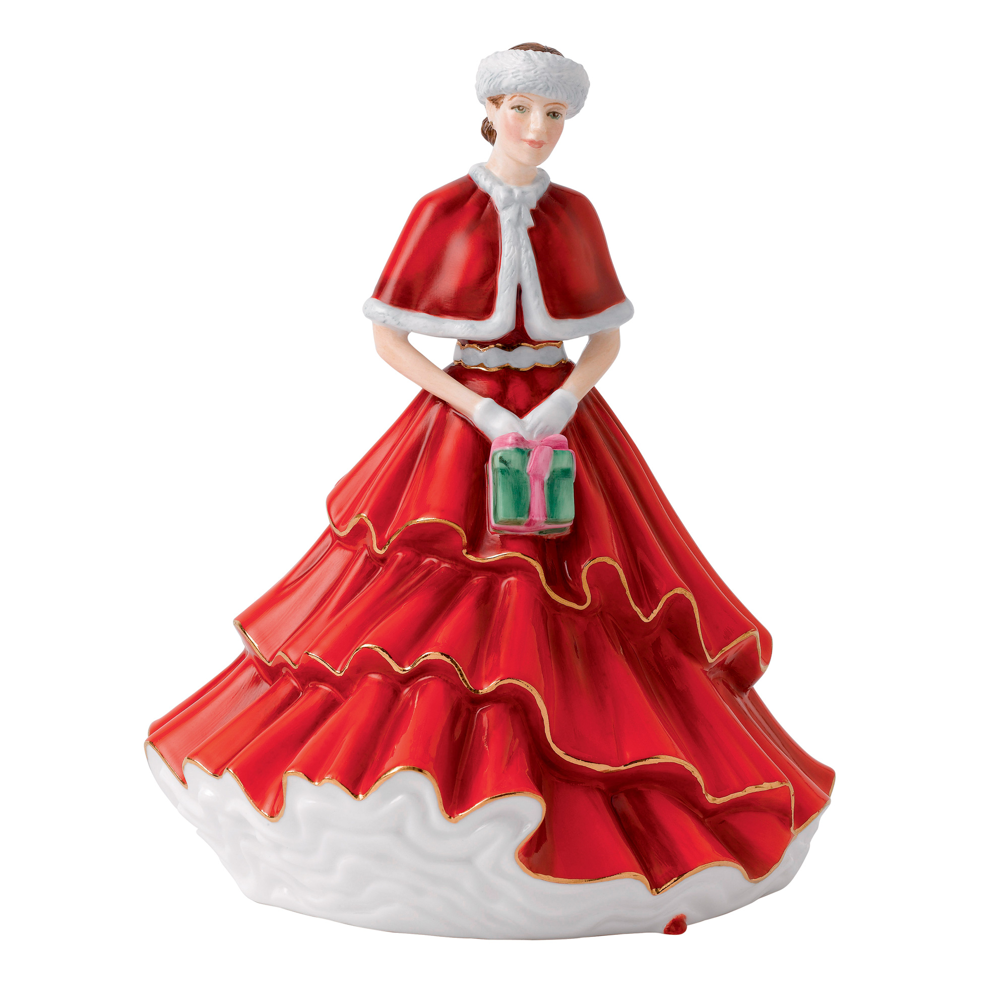A Gift for Christmas HN5780 - 2016 Royal Doulton Christmas Day Petite of the Year