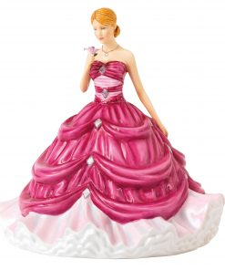 Diamond with Brooch HN5804 - Royal Doulton Figurine