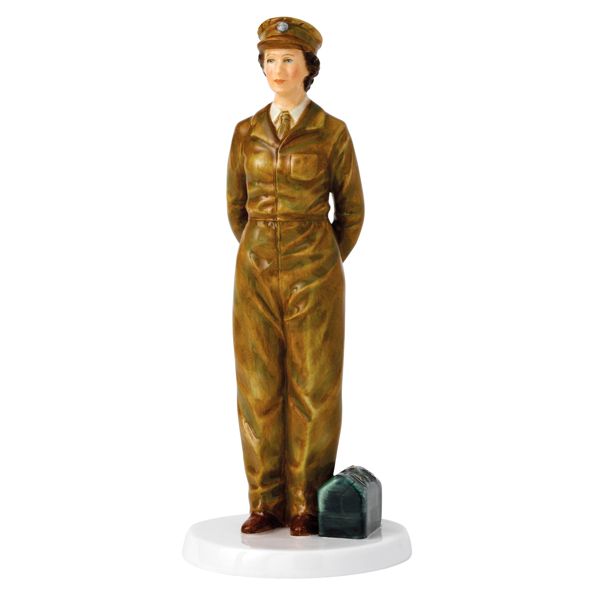 Her Majesty Army Days HN5806 - Royal Doulton Figurine