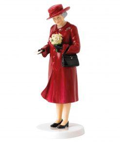Her Majesty Birthday Celebration HN5808 - Royal Doulton Figurine
