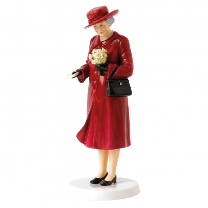 Her Majesty Birthday Celebration HN5808 - Royal Doulton Figurine