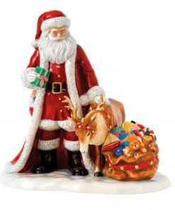 Holiday Magic HN5782 - 2016 Royal Doulton Father Christmas Figure of the Year
