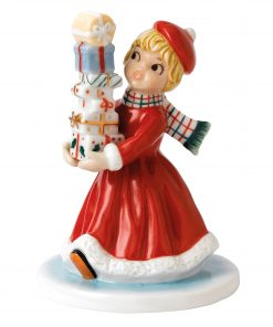 Wrapped and Ready NF001 - Royal Doulton Figurine