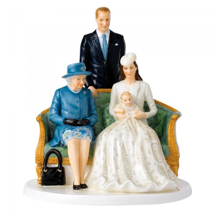A Royal ChristeningHN5809 - Royal Doulton Figurine