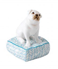 Lucky Pug TD004 - Royal Doulton Animal