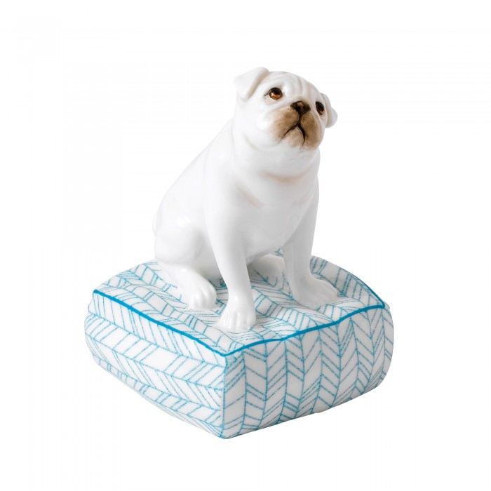 Lucky Pug TD004 - Royal Doulton Animal