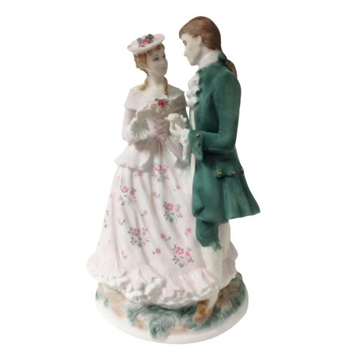 The Betrothal CW457 - Royal Worcester Figurine