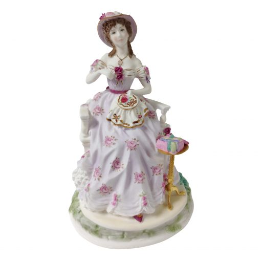 Embroidery - Royal Worcester Figurine