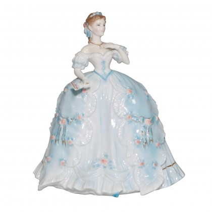 The First Quadrille - Royal Worcester Figurine