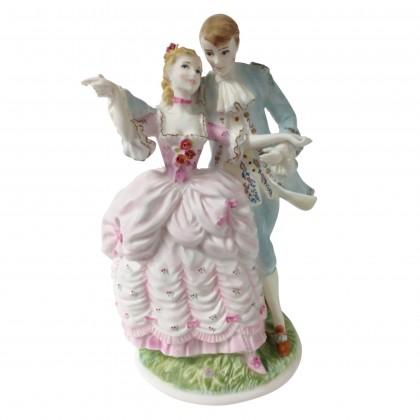 The Flirtation CW304 - Royal Worcester Figurine