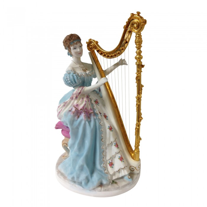 Music CW338 - Royal Worcester Figurine