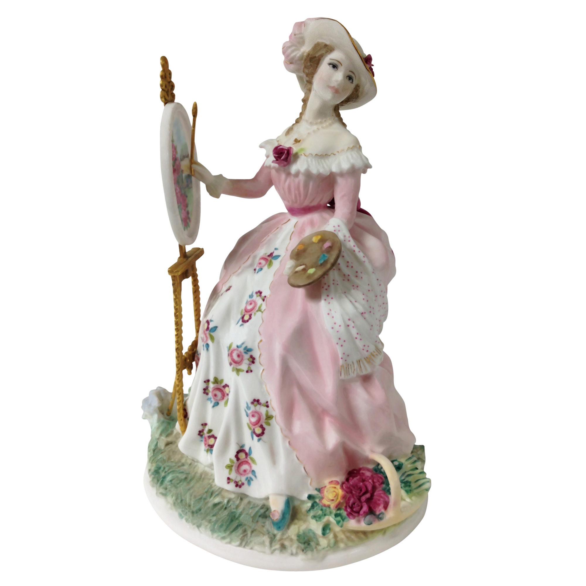 Painting - Royal Worcester Figurine
