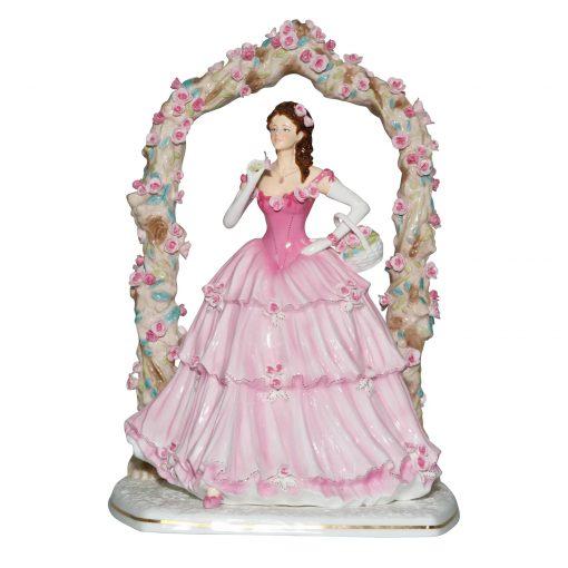Rose Arbour CW883 - Royal Worcester Figurine