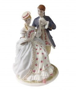 The Tryst CW305 - Royal Worcester Figurine