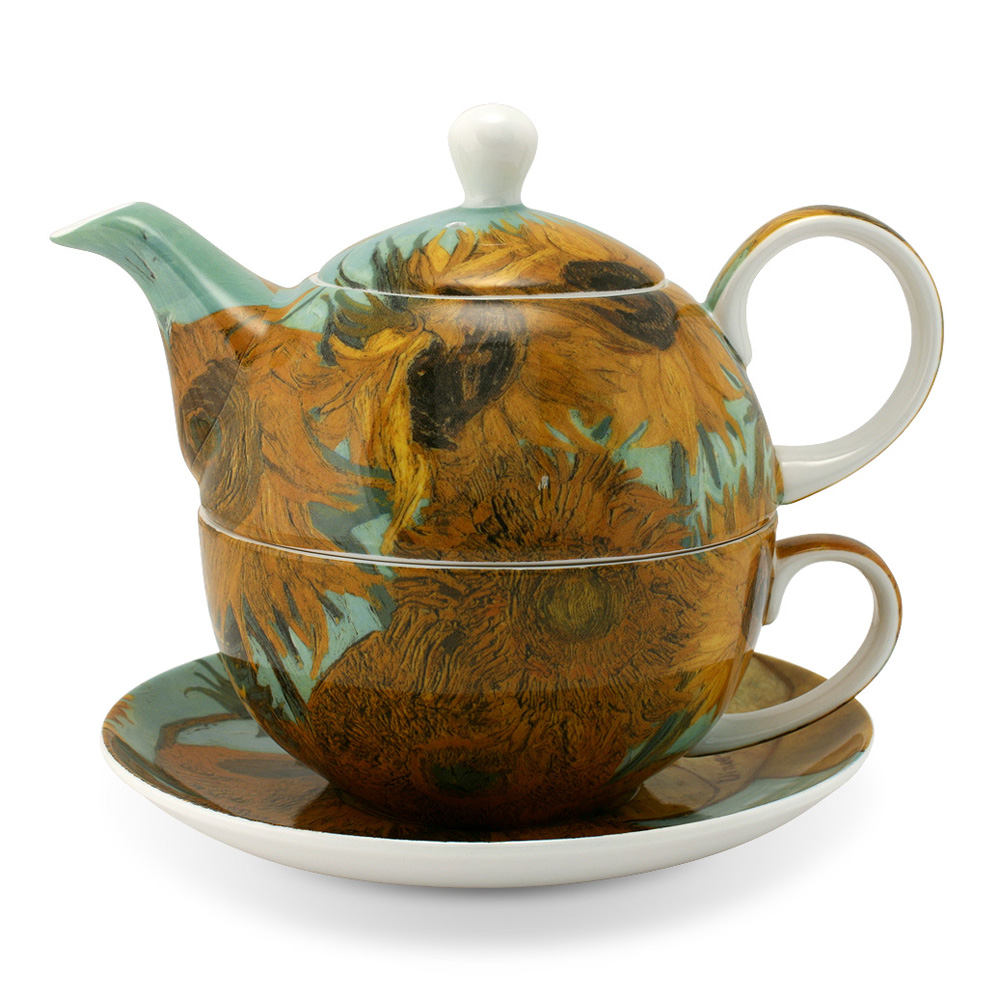 Van Gogh Sunflowers Tea for One