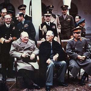 Churchill and Political Figures