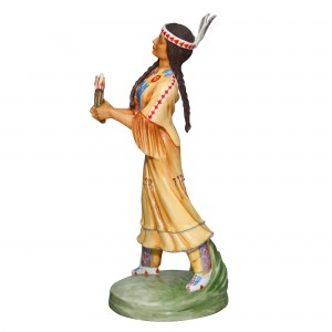 North America Indian Dancer HN2809FS - Royal Doulton Figurine